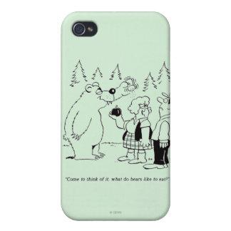 Bears Dinner iPhone 4 Case
