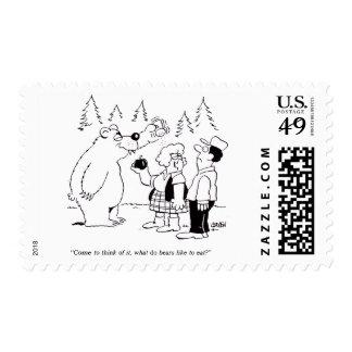 Bears Dinner Stamp