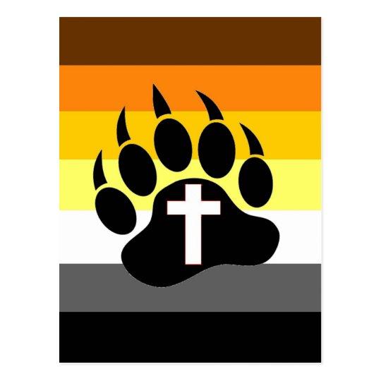 Bears for Christ Postcard
