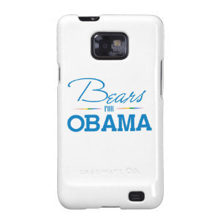 Bears for Obama Galaxy S2 Cases