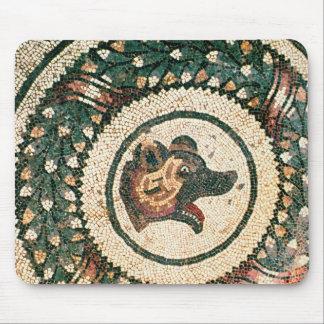 Bear's Head, Roman mosaic, early 4th century Mouse Pad