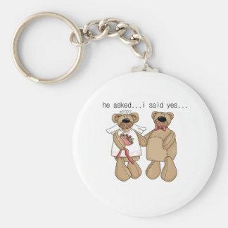 Bears I Said Yes Keychain