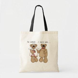 Bears I Said Yes Tshirts and Gifts Budget Tote Bag