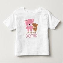 "Bears ""I'm The Big Sister"" Toddler T-shirt"