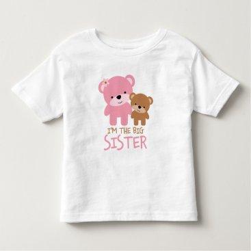 "heartlocked Bears ""I'm The Big Sister"" Toddler T-shirt"