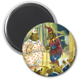 Bears in a Christmas Pageant in Animal Land Magnet