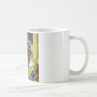Bears in a Christmas Pageant in Animal Land Coffee Mugs