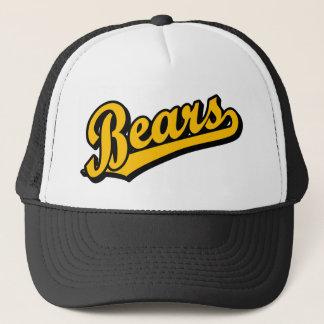 Bears in Orange Trucker Hat