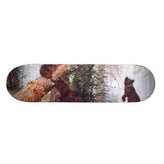 Bears in the Woods Skate Board