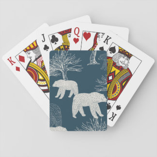 Bears in Woods Illustration Card Deck