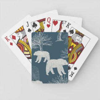 Bears in Woods Illustration Card Decks