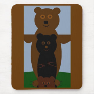 Bears Just Wanna Have Fun Mouse Pad