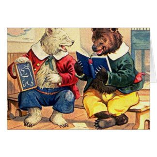 Bears Kept in School Card