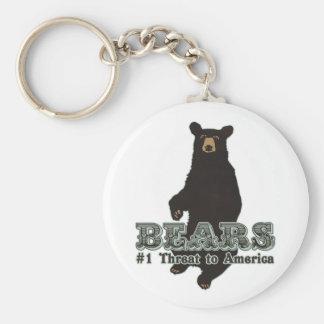 Bears Keychain