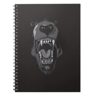 BEAR'S MOUTH SPIRAL NOTE BOOKS