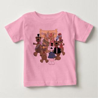 Bears New Years Party Baby T-Shirt