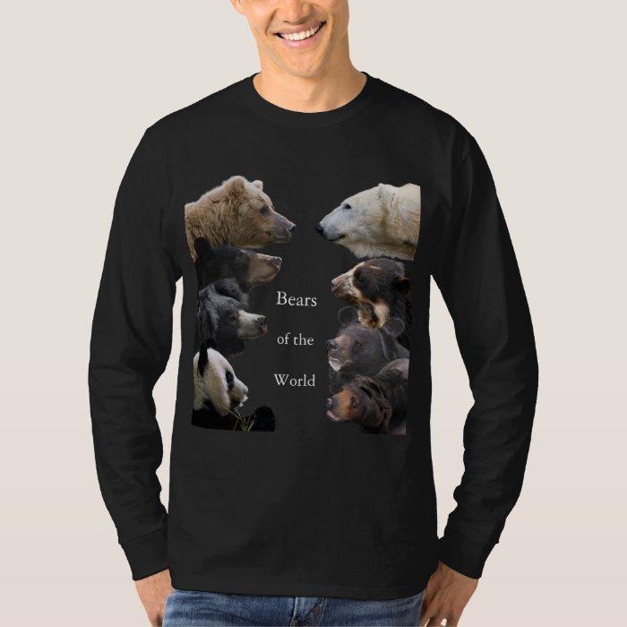Bears of the World Dark-colored T-Shirt