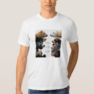 Bears of the World T Shirt
