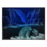 bears on ice print