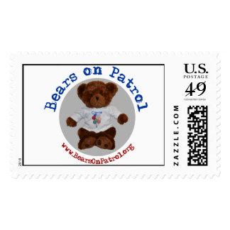 Bears on Patrol Stamp