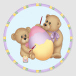 Bears Painting and Egg Stickers