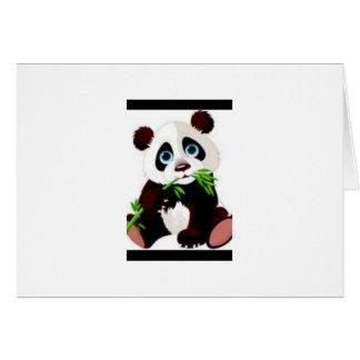 Bears, Panda, Animals, Cute Greeting Card