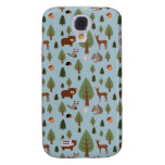 Bears, Raccoons, Squirrels, Hedghogs and Trees Samsung Galaxy S4 Cases