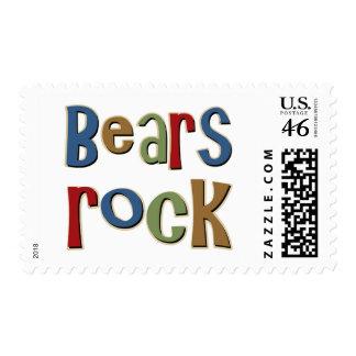 Bears Rock Postage Stamp