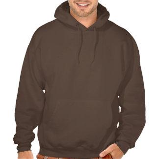Bears Rule Brown on Black Paw HOT LOOKING Hooded Sweatshirts