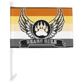 Bears Rule Gay Bear Pride Flag and Wings