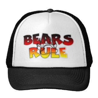 BEARS RULE TRUCKER HAT