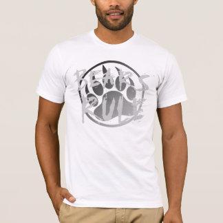 BEARS RULE SILVER BEAR PAW T-Shirt