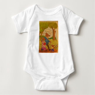Bears show all you need is love baby bodysuit