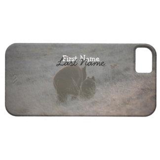 Bears Walking at Sunset; Customizable iPhone SE/5/5s Case
