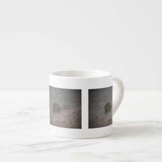 Bears Walking at Sunset Espresso Cup