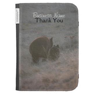 Bears Walking at Sunset; Promotional Kindle Case