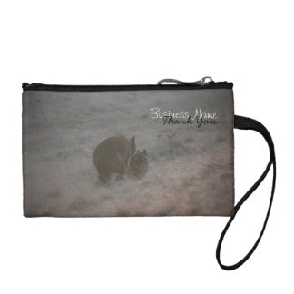 Bears Walking at Sunset; Promotional Coin Purse