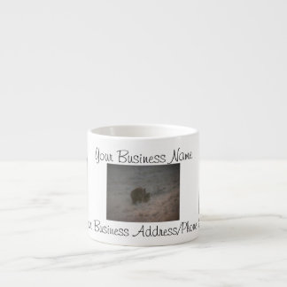 Bears Walking at Sunset; Promotional Espresso Cup