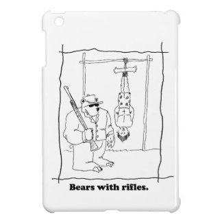 Bears with rifles cover for the iPad mini