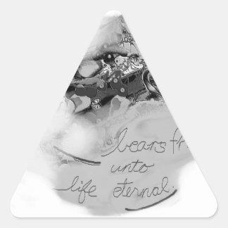 bearsfruit triangle sticker