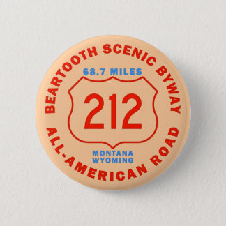 Beartooth Scenic Byway All American Road Button