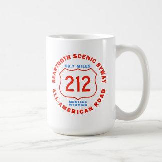 Beartooth Scenic Byway All American Road Coffee Mug