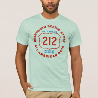 Beartooth Scenic Byway All American Road T-Shirt