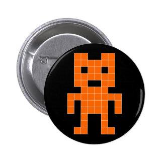 BearVader - Orange Pin