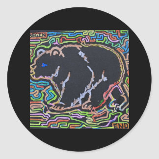 Beary-Amazing Product Line Classic Round Sticker