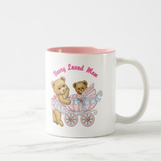 Beary amó a la mamá taza de dos tonos
