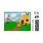 Beary Bear Postage Stamps