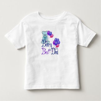 Beary Best Dad Toddler T-shirt