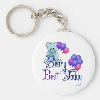 Beary Best Daddy Keychain