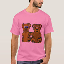 Beary Best Friends Plus-Size T-Shirt
